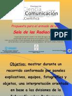 HUGO MARTIN ATOMICA CORDOBA PROPUESTA SALA DE RADIACIONES PROTRI 2015