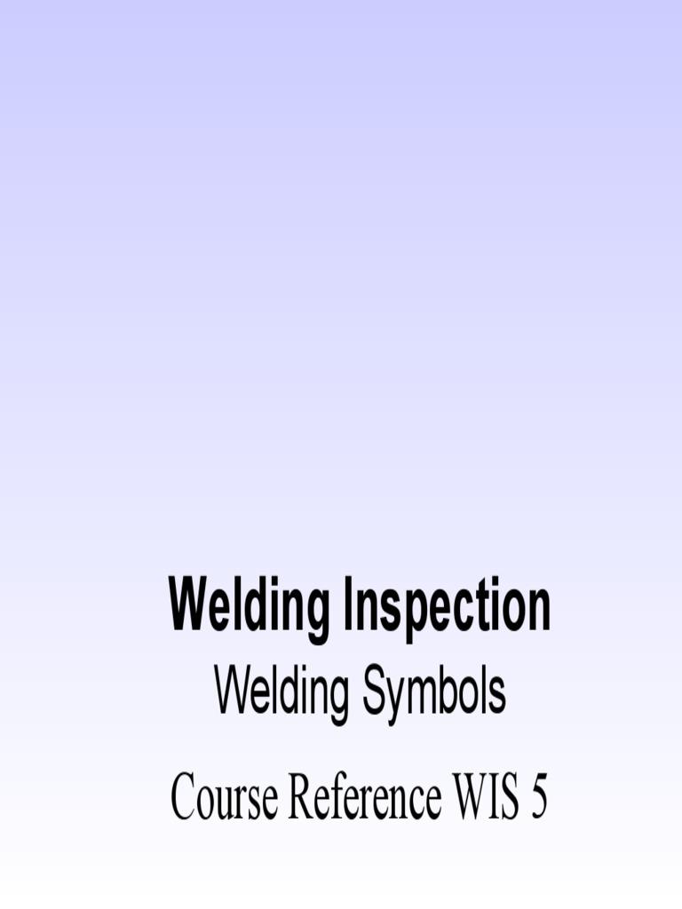 Wis5 welding symbolspdf joining welding buycottarizona Images