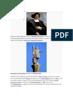 Perfil Histórico Cristobal Colon