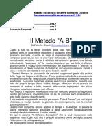 Di Fabio M. - Il Metodo a-B (Sogni Lucidi)