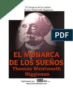 1886- Higginson, Thomas Wentworth- El Monarca de Los Sueños