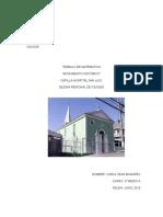 Trabajo de Matemática Monumento Histórico CARLA VEAS 2º MEDIO IQRA JUNIO 2015
