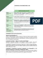 Proyecto Educativo Regional de San Martín 2005