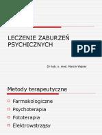 Terapia Zaburzen Psychicznych Materialy