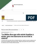 """""""La Biblia Dice Que"""""""