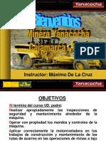 Curso Motoniveladora 24h Caterpillar Componentes Sistemas Inspeccion Mantenimiento Aplicaciones Tecnicas Operacion