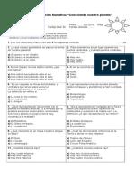 Evaluación Sumativa Zonas Climaticas Docx