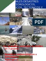 DESASTRES METEOROLOGICOS