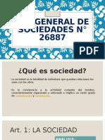 LEY GENERAL DE SOCIEDADES N° 26887