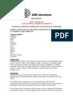 1er Report ASME LAC Boilers