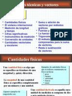 Mediciones Tecnicas y Vectores