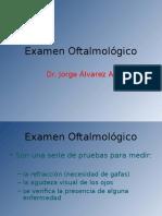 Examen Oftalmológico Final