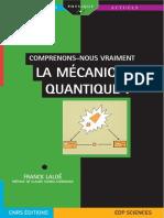 Comprenons-nous Vraiment La Mécanique Quantique - EDP Sciences