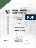 Tesis de Licenciatura de Enrique Peña Nieto