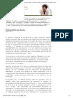 Esa Tristeza Que Tienes - Filosofía y Periodismo _ Columnistas - Montevideo Portal