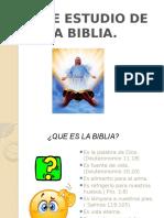 Breve Estudio de La Biblia Nº1