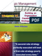Ch11-Building an Org Capable of Good Strat Execution