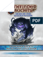 Pathfinder Society Organized Play Manual August 2016