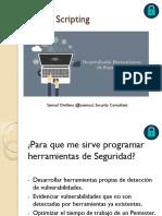 Presentación - Security Conference 2016 Chile