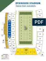 SDSU Stadium map