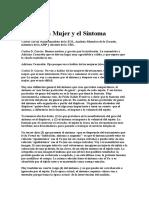 Carlos Dante García La Mujer y El Síntoma