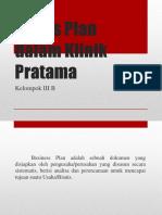 Bisnis Plan Klinik Pratama