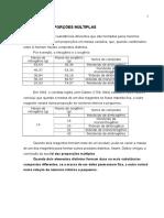03 - Lei Das Proporções Múltiplas
