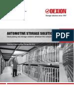 Automotive Component Storage