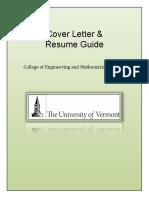 2015 Cover Letter Resume Guide