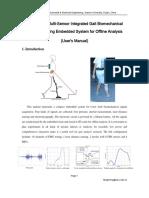 Manual of A Wearable Multi-Sensor Gait Signal Sampling System