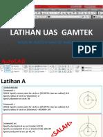 LATIHAN UAS  GAMTEK