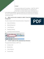 Explain the Term SAP FICO