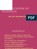 Classification of Research (2)