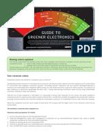 Guide to Greener Electronics (Greenpeace)