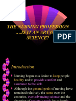 Nursing as a Science & Art