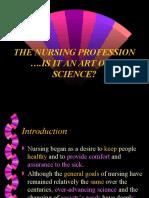 Nursing as a Science & Art