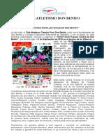 Nota de Prensa Atletismo