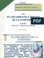A. Planeamiento de Auditoria