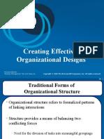 Ch10 Organizational Design