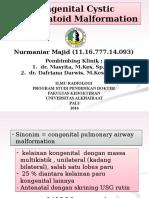 Congenital Cystic Adematoid Malformation