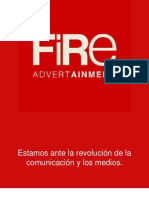 Rodrigo Figueroa, Socio Fundador de FiRe- Advertainment