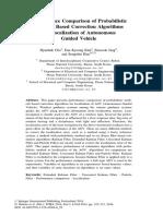 Performance Comparison of Probabilistic Methods Based Correction Algorithms for Localization of Autonomous Guided Vehicle