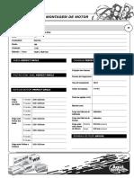Tabela DANA de Montagem Do Motor Fiat Do Palio 1.3 16V