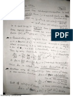 Ordinary Differential Equation Notes
