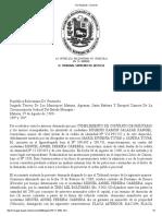 TSJ Regiones - Decisión CAMION