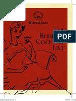 Boisdale Cocktail List 2010 3rd