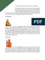 Ada Beberapa Teori Masuknya Agama Hindu Ke Indonesia