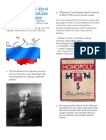 Interesting Facts About World War II That You Might Not Know