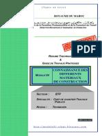 Module 04 Connaissance Des Differents Materiaux BTP TCCTP