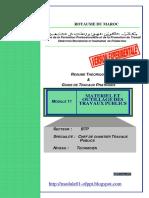 Module 11 Materiel Et Outillage Des Travaux Publics BTP TCCTP